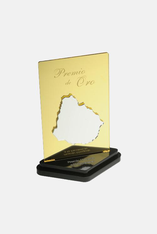 Trofeo espejado